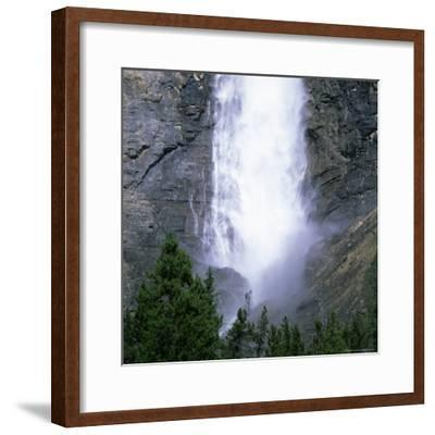 Takakkaw Falls Swollen by Summer Snowmelt, British Columbia (B.C.), Canada-Ruth Tomlinson-Framed Photographic Print