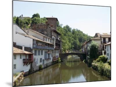 Saint Jean Pied De Port, Basque Country, Pyrenees-Atlantiques, Aquitaine, France-Robert Harding-Mounted Photographic Print