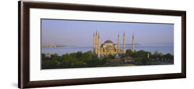 The Blue Mosque (Sultan Ahmet Mosque), Istanbul, Turkey, Europe-Simon Harris-Framed Photographic Print