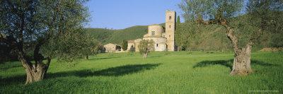 San Antimo Abbey, Siena Province, Tuscany, Italy-Bruno Morandi-Framed Photographic Print