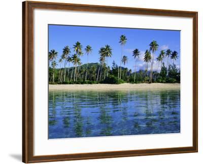 East Coast, Motu Nao Nao, Raiatea Island, Society Islands Archipelago, French Polynesia-J P De Manne-Framed Photographic Print