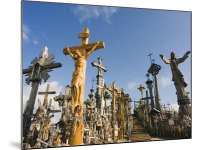 Hill of Crosses (Kryziu Kalnas), Thousands of Memorial Crosses, Lithuania, Baltic States-Christian Kober-Mounted Photographic Print