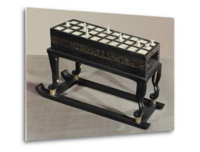 A Board Game of Senet, Egypt, North Africa-Robert Harding-Metal Print