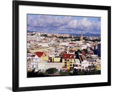 Skyline of Fort De France, Island of Martinique, Lesser Antilles, French West Indies, Caribbean-Yadid Levy-Framed Photographic Print