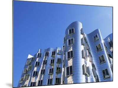 The Neuer Zollhof Building by Frank Gehry, Nord Rhine-Westphalia, Germany-Yadid Levy-Mounted Photographic Print