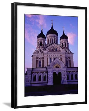 The Russian Orthodox Alexander Nevsky Cathedral in Toompea, Estonia, Baltic States-Yadid Levy-Framed Photographic Print