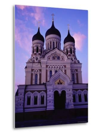 The Russian Orthodox Alexander Nevsky Cathedral in Toompea, Estonia, Baltic States-Yadid Levy-Metal Print