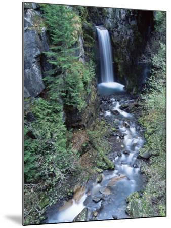Christine Falls, Mount Rainier National Park, Washington State-Colin Brynn-Mounted Photographic Print