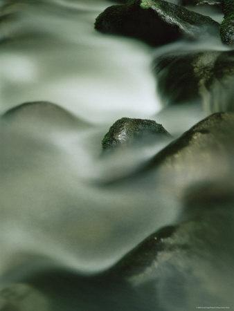 Close-Up of Water Over Rocks, Tennessee, USA-James Hager-Framed Photographic Print