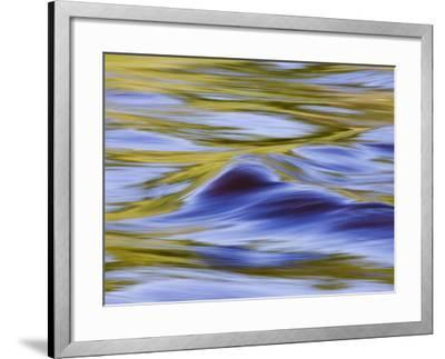 Golden Ripples in the Kettle River, Banning State Park, Minnesota-James Hager-Framed Photographic Print