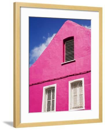 Pink Building on Republique Street, Fort-De-France, Martinique, French Antilles, West Indies-Richard Cummins-Framed Photographic Print