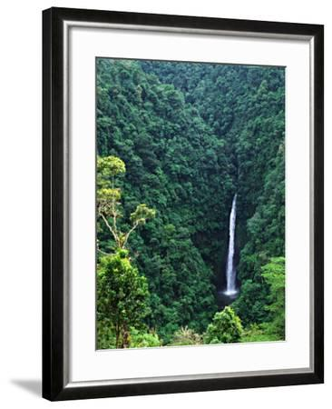 Waterfall near Poas Volcano, Poas Volcano National Park, Costa Rica-Charles Sleicher-Framed Photographic Print