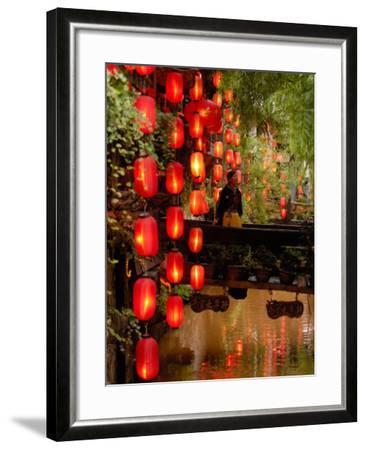 Lijiang, Yunnan Province, China-Pete Oxford-Framed Photographic Print
