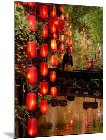 Lijiang, Yunnan Province, China-Pete Oxford-Mounted Photographic Print
