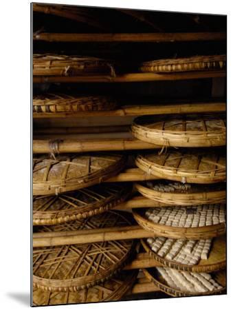 Sweet Bread, Jianshui Market, Yunnan Province, China-Pete Oxford-Mounted Photographic Print