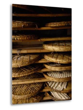 Sweet Bread, Jianshui Market, Yunnan Province, China-Pete Oxford-Metal Print