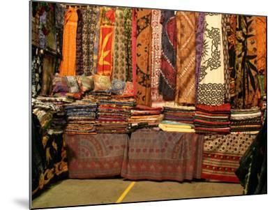 Cloth Stall, Paddy's Market, near Chinatown, Sydney, Australia-David Wall-Mounted Photographic Print
