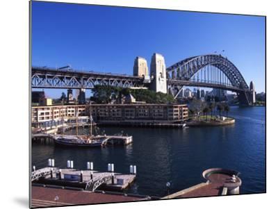 Sydney Harbor Bridge, Sydney, Australia-David Wall-Mounted Photographic Print