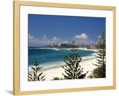 Coolangatta, Gold Coast, Queensland, Australia-David Wall-Framed Photographic Print