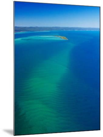 Great Sandy Straits, Little Woody Island and Fraser Island, Queensland, Australia-David Wall-Mounted Photographic Print
