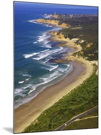 Great Ocean Road and Split Point Lighthouse, Aireys Inlet, Victoria, Australia-David Wall-Mounted Photographic Print