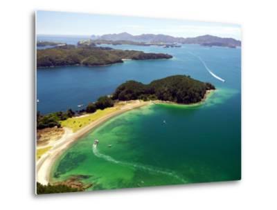Motuarohia Island, Bay of Islands, Northland, New Zealand-David Wall-Metal Print