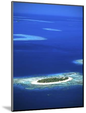 Aerial of Treasure Island Resort, Mamanuca Island Group, Fiji-David Wall-Mounted Photographic Print