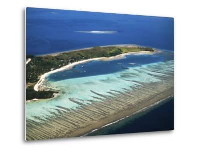 Mana Island, Mamanuca Islands, Fiji-David Wall-Metal Print