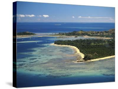 Malolo Lailai Island, Mamanuca Islands, Fiji-David Wall-Stretched Canvas Print