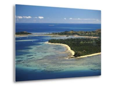 Malolo Lailai Island, Mamanuca Islands, Fiji-David Wall-Metal Print