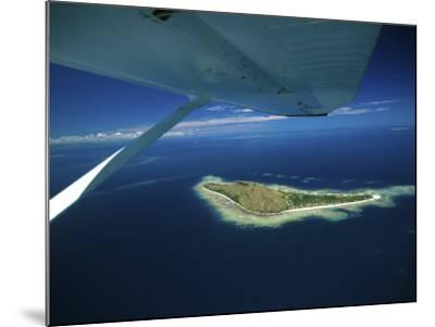 Float over Vomo Island, Fiji-David Wall-Mounted Photographic Print