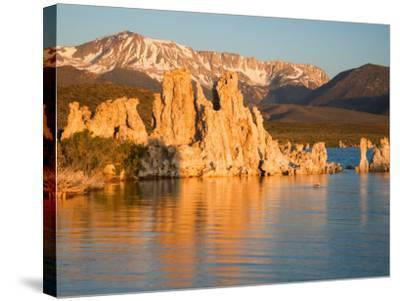 Tufas and Mono Lake, South Tufa Area, Mono Lake Tufa State Reserve, California, USA-Jamie & Judy Wild-Stretched Canvas Print