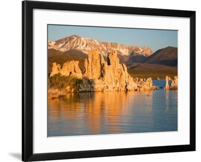 Tufas and Mono Lake, South Tufa Area, Mono Lake Tufa State Reserve, California, USA-Jamie & Judy Wild-Framed Photographic Print