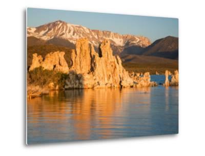 Tufas and Mono Lake, South Tufa Area, Mono Lake Tufa State Reserve, California, USA-Jamie & Judy Wild-Metal Print