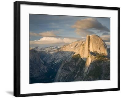 Yosemite with Half Dome. from Glacier Point. Yosemite National Park, CA-Jamie & Judy Wild-Framed Photographic Print