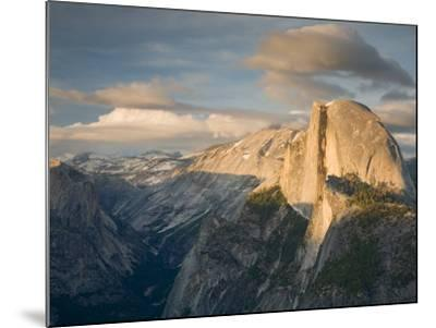 Yosemite with Half Dome. from Glacier Point. Yosemite National Park, CA-Jamie & Judy Wild-Mounted Photographic Print