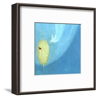 Dove of Light--Framed Art Print