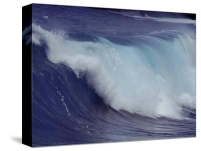 Waves, Pacific Ocean, Christmas Island, Australia-Jurgen Freund-Stretched Canvas Print