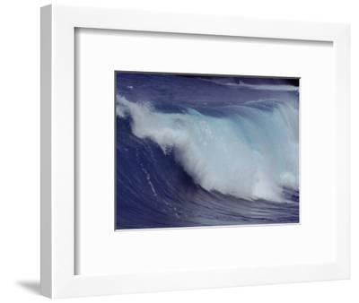 Waves, Pacific Ocean, Christmas Island, Australia-Jurgen Freund-Framed Premium Photographic Print