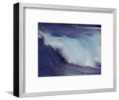 Waves, Pacific Ocean, Christmas Island, Australia-Jurgen Freund-Framed Premium Photographic Print