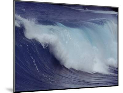Waves, Pacific Ocean, Christmas Island, Australia-Jurgen Freund-Mounted Premium Photographic Print