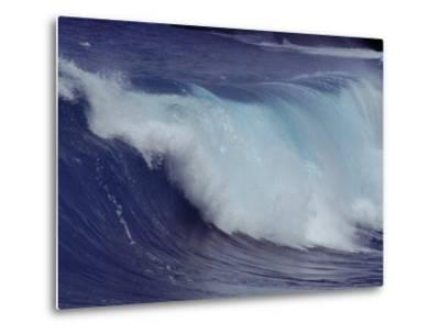 Waves, Pacific Ocean, Christmas Island, Australia-Jurgen Freund-Metal Print