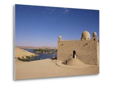Aga Khan Mausoleum on River Nile, Aswan, Egypt-Staffan Widstrand-Metal Print