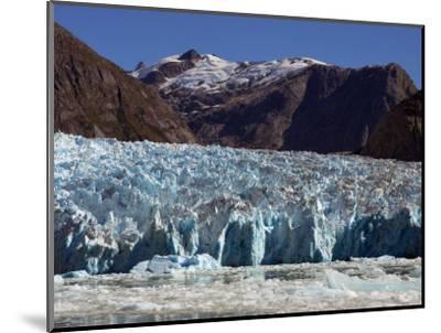 Blue Ice Along Glacier Front, Leconte Glacier, Alaska-Ralph Lee Hopkins-Mounted Photographic Print