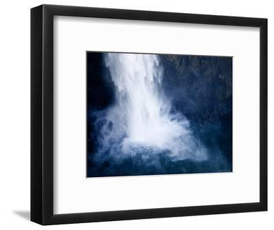 Bottom of a Waterfall-Tim Laman-Framed Photographic Print