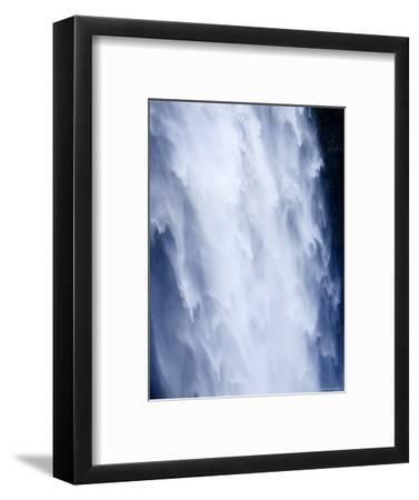 Closeup View of a Waterfall-Tim Laman-Framed Photographic Print