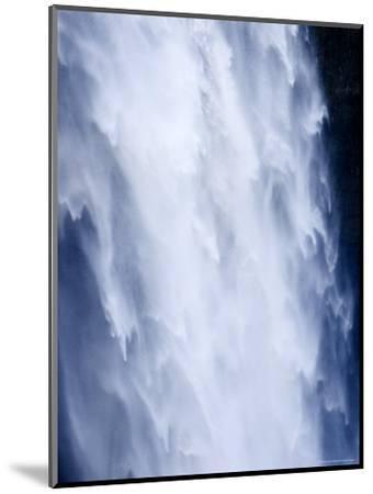 Closeup View of a Waterfall-Tim Laman-Mounted Photographic Print
