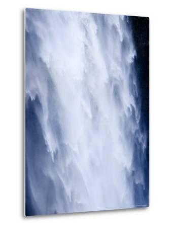 Closeup View of a Waterfall-Tim Laman-Metal Print
