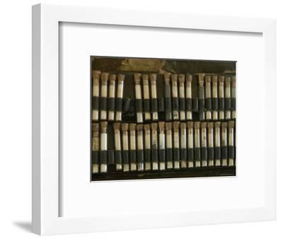 Close View of Test Tubes from an Antique Medical Bag, Stonington, Connecticut-Todd Gipstein-Framed Photographic Print