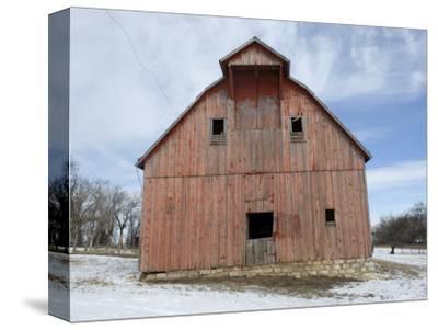 Abandoned Farm near Otoe, Nebraska-Joel Sartore-Stretched Canvas Print